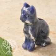 Sodalith Steingravur Katze