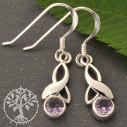 Amethyste Earpendant Faceted