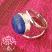 Lapislazuli Silverring Sterlingsilver Gemstone Ring