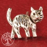 Katze Silberohrstecker