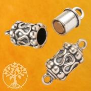 Magnet Silberverschluss oxidierte Walze