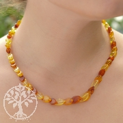 Amber Necklace Scale