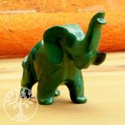 Elefant Törööö Malachit Steinfigur 014