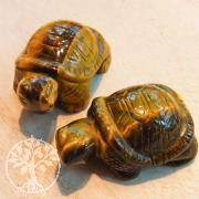 Tigerauge Steinschildkröte 50mm