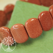 Goldstone Bracelet Oval SMALL