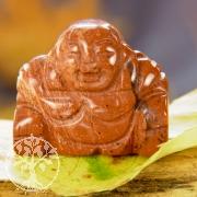 Roter Jaspis Buddha Anhänger Edelsteinfigur