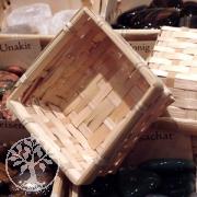 Baskets bamboo angular 10 pcs