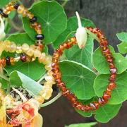 Amber children bracelet