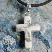 Magnesite Cross Pendant small