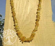 Amber neklace 60-70cm yellow natural amber