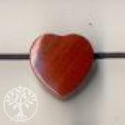Roter Jaspis Herz Anhänger