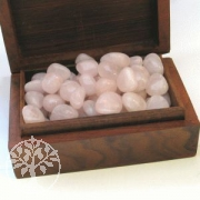 Rosequartz Tumbled Stones 12/22mm Small Size Wholesale