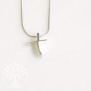 Silber Kreuz Anhaenger klein