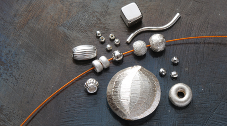 Silberschmuck herstellen material